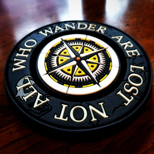 """The Explorer Series """"NOT ALL WHO WANDER ARE LOST"""" Morale Patch"""