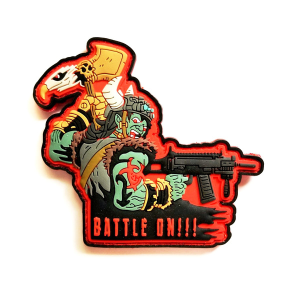 """The """"Battle On"""" Morale Patch"""