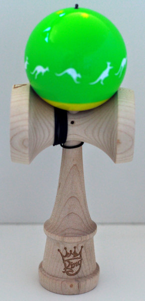 Cereal X Kendama King Green and Gold