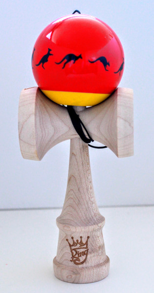 Cereal X Kendama King Red and Black