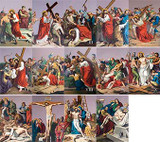 St. Peter's Stations of the Cross Indoor Outdoor Aluminum Prints (Set of 14)