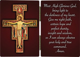 San Damiano Crucifix with Prayer Diptych
