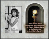 Eucharist Detail Personalized Photo Frame