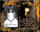 Eucharist & Chalice Personalized Photo Frame