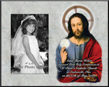 Christ with the Eucharist Personalized Photo Frame