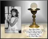 Communion Chalice Personalized Photo Frame