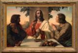 The Breaking of the Bread Framed Art