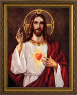 Sacred Heart of Jesus III Framed Art