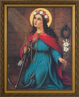 St. Philomena Framed Art
