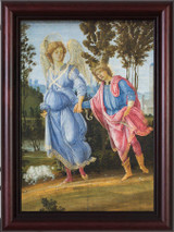 St. Tobias and the Angel Framed Art