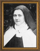 St. Therese (Portrait) Framed Art