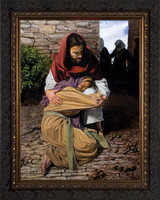 A Prodigal Daughter by Jason Jenicke - Ornate Dark Framed Art