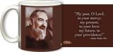 St. Padre Pio Portrait Mug