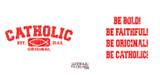 Catholic Original Red/White Mug