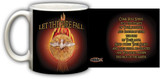 Holy Spirit Fire Black Mug
