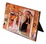 The Annunciation Horizontal Desk Plaque