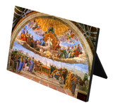 Disputation of the Holy Eucharist Horizontal Desk Plaque