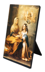St. Anne Vertical Desk Plaque
