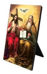 Trinity Vertical Desk Plaque