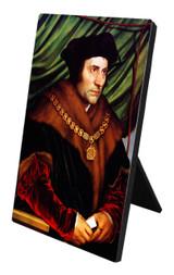 St. Thomas More Vertical Desk Plaque