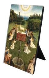 Altar of the Lamb Vertical Desk Plaque