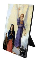 L'Annunciation Vertical Desk Plaque