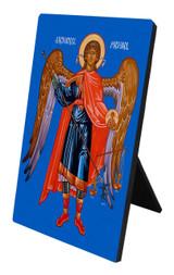 St. Michael Vertical Desk Plaque