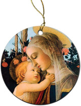 Virgin and Her Child Ornament