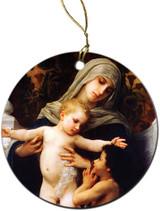 La Vierge L'enfant Ornament