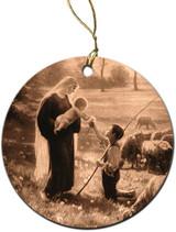 Gift of the Shepherd Ornament