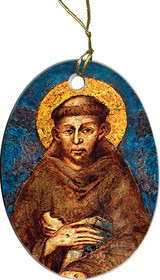 St. Francis by Cimabue Ornament