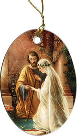 Wedding of Joseph & Mary Ornament