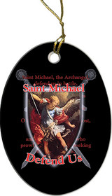 St. Michael Defend Us Ornament