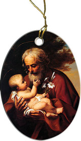 St. Joseph (Older) Ornament