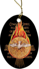 Holy Spirit Fire Ornament