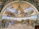 Disputation of the Eucharist Poster