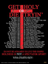 Get Holy or Die Tryin' Poster