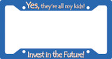 Invest in the Future Plate Frame