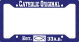 Catholic Original Blue Plate Frame