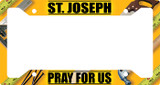 St. Joseph Pray for Us Plate Frame