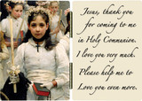 After the First Holy Communion (Detail 1 Girl) Diptych