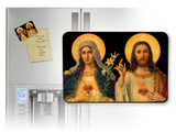 Antique Sacred & Immaculate Hearts Magnet