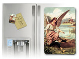 Guardian Angel on the Boat Magnet