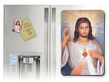 Divine Mercy with Sacred Heart Detail Magnet