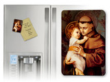 St. Anthony with Jesus Magnet