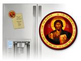 Christ the Teacher Round Magnet