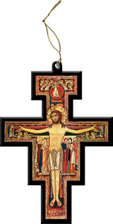 San Damiano Cutout Ornament