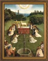 Altar of the Lamb Detail Framed Art
