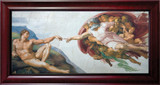 The Creation of Adam Framed Art