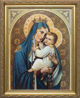 Our Lady of Mt. Carmel Framed Art